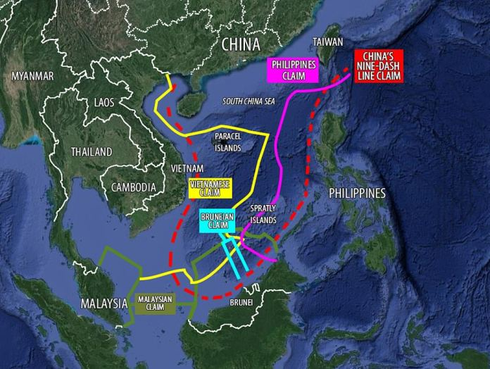 China has inflamed tensions in the South China Sea in recent years by expanding its claimed territory, to the objection of its neighbours in the Asia-Pacific