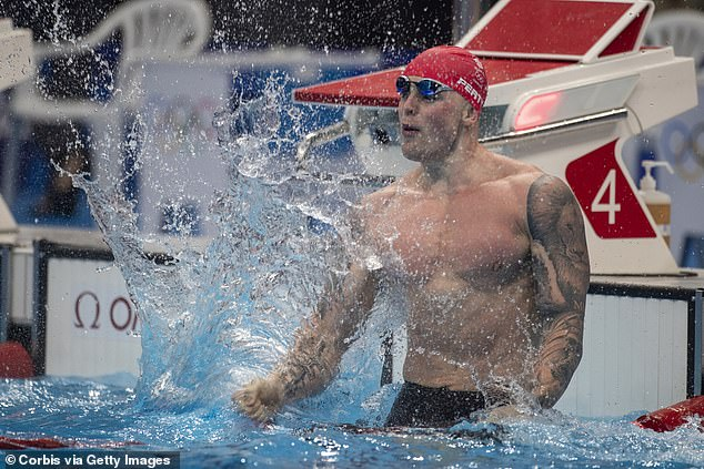 Britain's most famous swimmer is ready to have fun after his relentless focus on Tokyo 2020