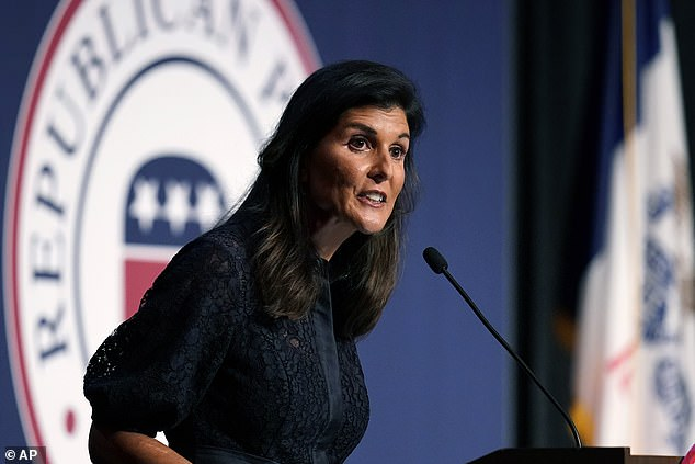 Nikki Haley became the latest Republican to condemn Gen. Mark Milley for calls to a Chinese general in which he promised to alert China if former President Trump planned to launch an attack.'There is only one president at a time,' she said