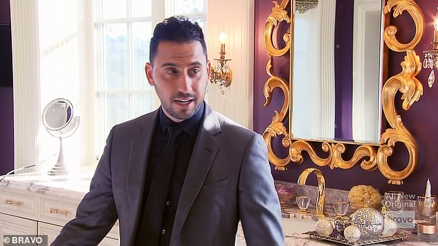 Teaming up: Josh Altman agreed to co-list the $ 28.5 million house with Fredrik