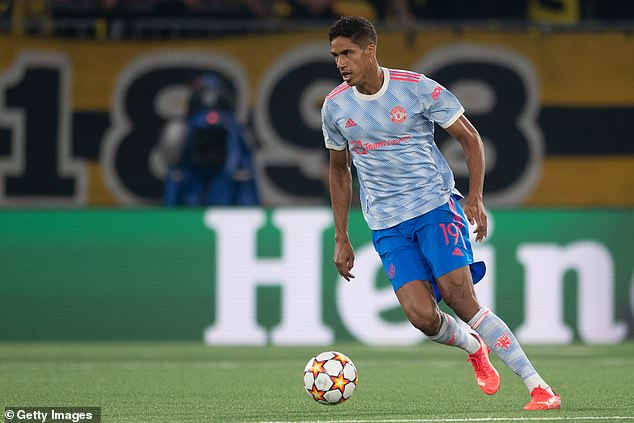 Defender Raphael Varane was signed from Real Madrid for around £42million this summer