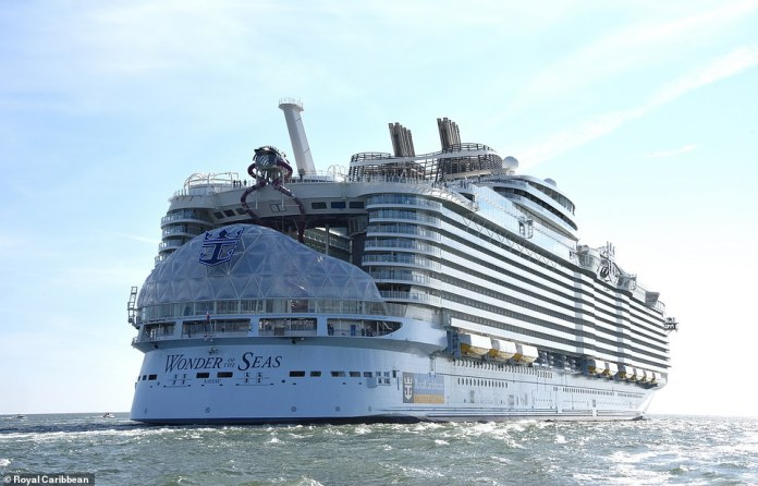 Royal Caribbean promises families and vacationers will have 'a new wave of possibilities in eight different realms of wonder'