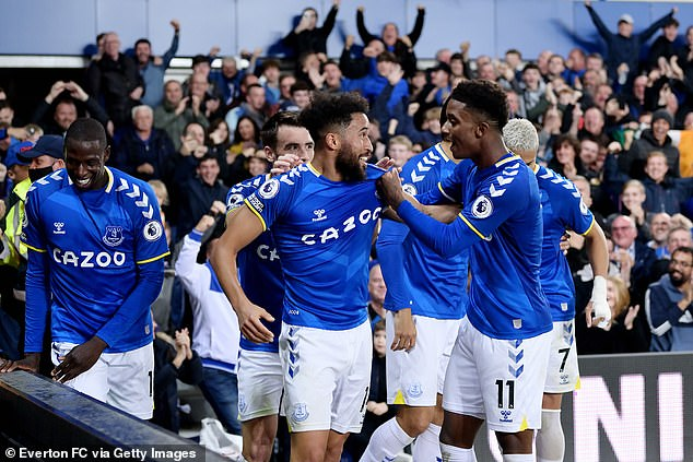 Andros Townsend and Demarai Gray make a cheap but potent pairing on the wings for Everton