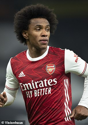 Willianmassively underperformed during his one season at Arsenal