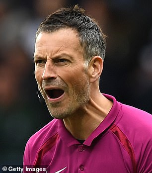 Referee Mark Clattenburg (pictured) has revealed he once threw his boot at Jose Mourinho