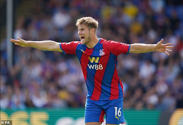 The 25-year-oldfitted the mould of younger player Palace wanted for Vieira's new-look team