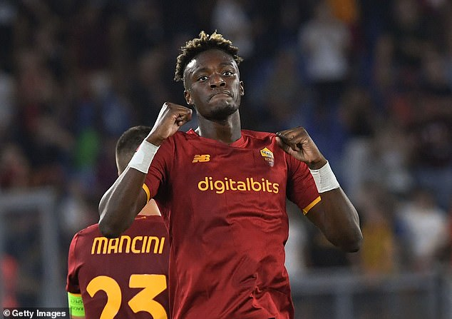 Abraham has enjoyed a dream start to life at Jose Mourinho's Roma with two goals so far