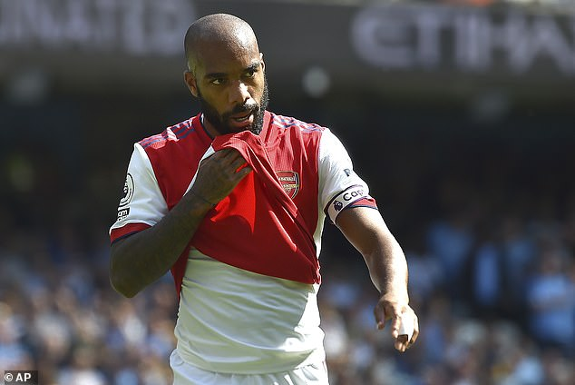 Alexandre Lacazette will be a free agent at the end of the season if not signed to a new deal