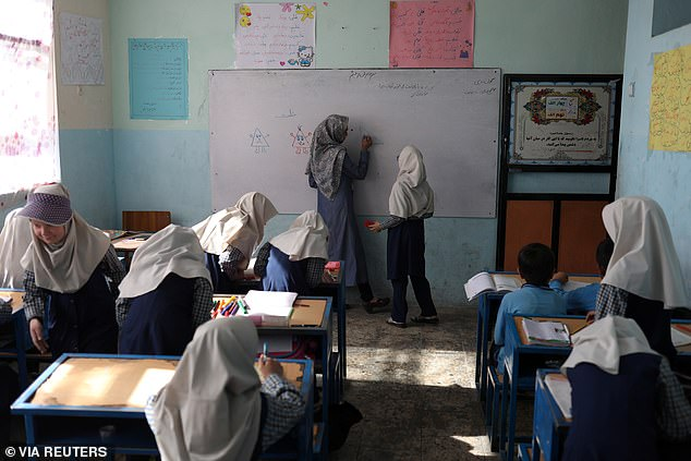 Girls were excluded from returning to high school in Afghanistan on Saturday, after the country's new Taliban ruler only ordered boys and male teachers back to the classroom