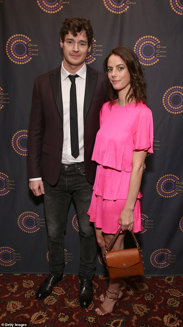 Sweet: Kaya and Benjamin met, shooting for the film The King's Daughter in 2014 and married a year later (pictured in 2019)