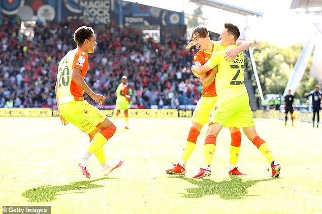 Nottingham Forest won 2-0 against Huddersfield to bring some much needed joy to the club