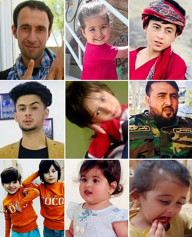 Ten innocent civilians - all members of the same family - were killed in the August 29 US drone strike