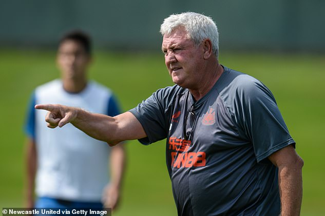 Newcastle boss Steve Bruce also revealed that many of his players have not been vaccinated