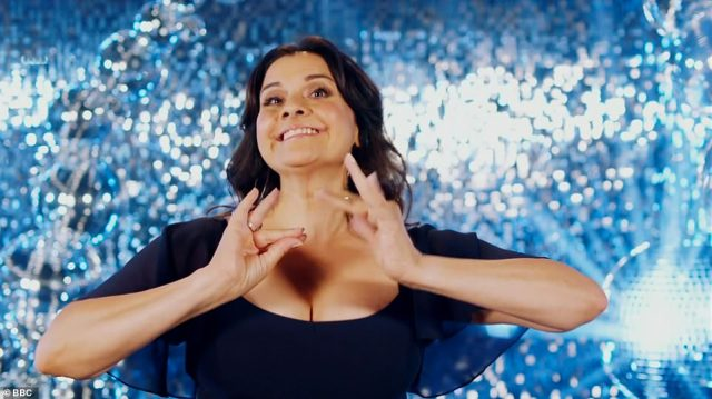 Hilarious: Nina Wadia spoke about her first fake tan experience, telling Tess: 'I asked for Bombay Glow but I think I got three weeks in the Sahara'