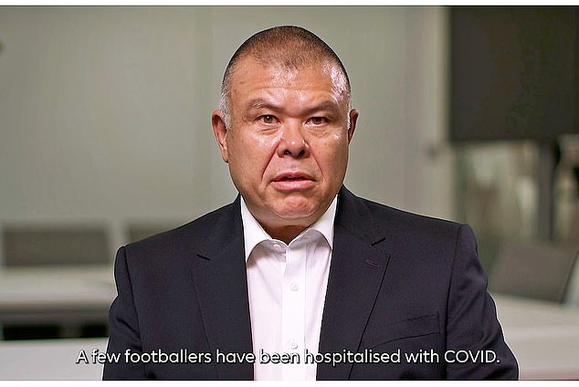 Jonathan Van-Tam urges Premier League stars to get the jab in personal video