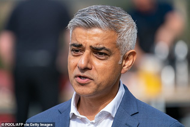 The £2.8 million project was known to London Labour mayor Sadiq Khan who gave it his backing