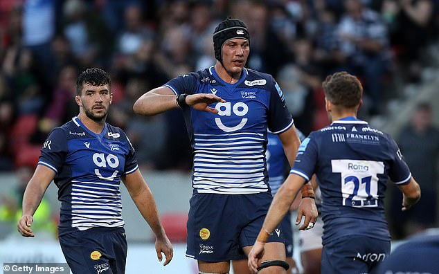 Sale Sharks went 17-0 ahead and almost threw it but were able to answer Bath's comeback