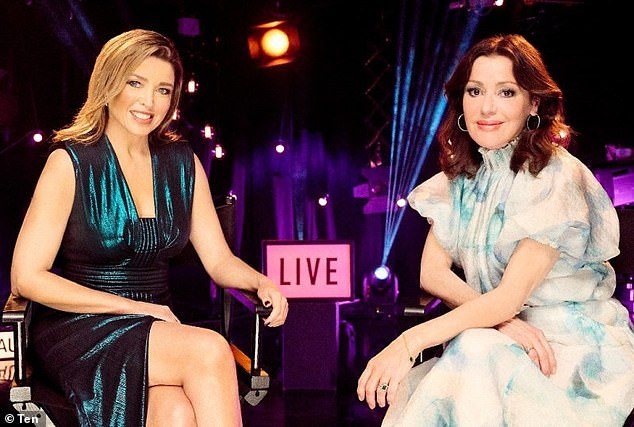 Reunited!  Dannii Minogue, 49 years old, [L] and Tina Arena, 53, [R] are set to reunite for Young Talent Time: Unmasked, 50 years after the singing show first aired on TV