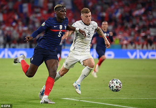 Pogba received heaps of praise at Euro 2020 despite France's disappointing campaign