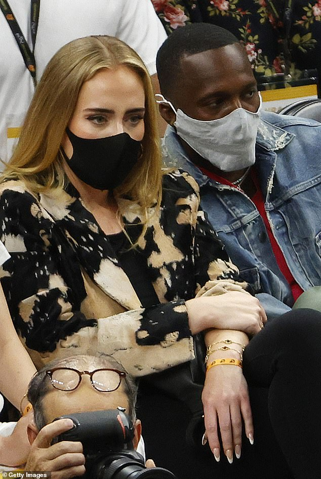 Romance: The couple confirmed their romance after being spotted at a dinner party, after going public in July when they sat next to the court in Game 5 of the NBA Finals in Phoenix, Arizona