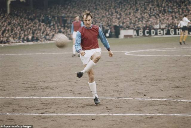 He played for West Ham after leaving Tottenham in 1970 and added a few more goals to that incredible tally