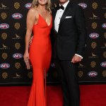 Ben Cousins leads the arrivals at the Brownlow Medal AFL Australia 💥👩💥