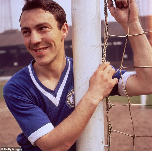 Greaves also had spells at Chelsea, West Ham and AC Milan during a legendary career