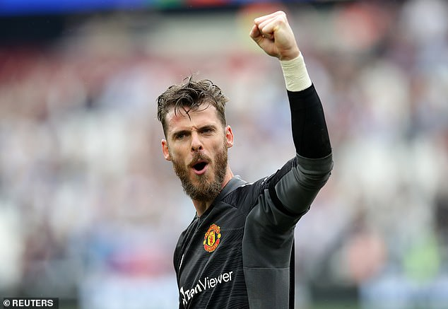 David de Gea finally ended his terrible penalty run in Manchester United's win over West Humoo