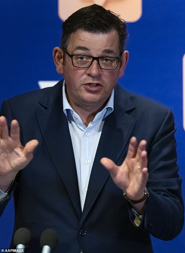 Victorian Premier Daniel Andrews (pictured) announced his roadmap out of lockdown on Sunday