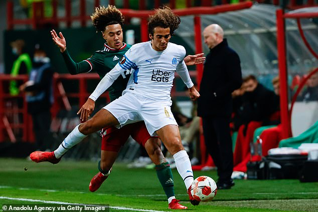 Matteo Guendouzi had a high-profile falling out with Arteta and has also joined Marseille
