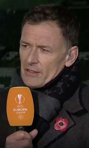 Chris Sutton is another former Celtic player who was refused entry for a TV punditry role