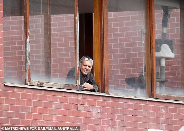 Retail chief Paul Zahra said he was 'gutted' and called for consistency between NSW and Victoria (man spotted watching Melbourne protests from his house on Saturday)
