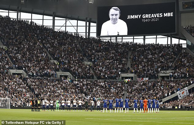The magic of Greaves will live on in the north London air whenever Tottenham play at home