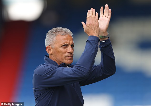 Oldham boss Keith Curle is the current man trying to steer the club which is at war with itself