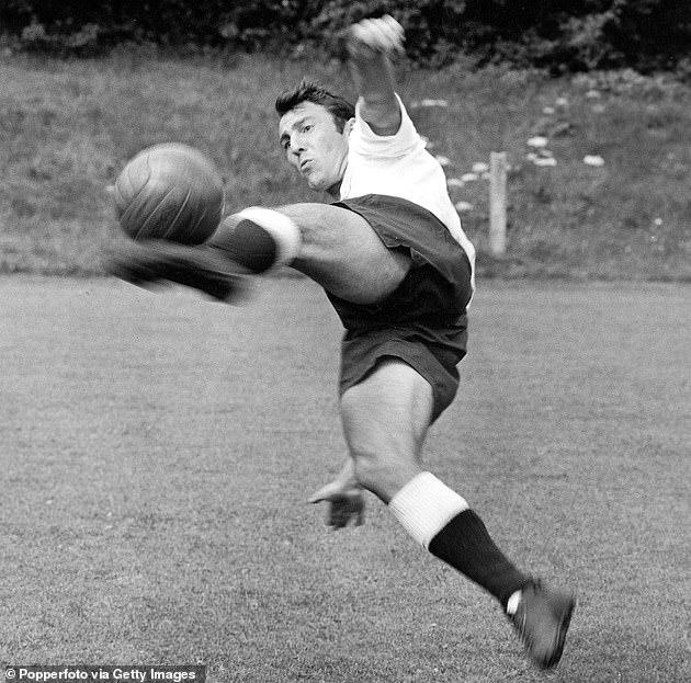 Season after England's World Cup win Greaves scored 25 goals in 38 league matches for Spurs