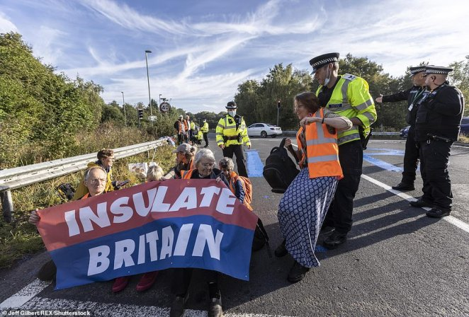 Eco-zealots who brought the M25 to a halt on three days of protest last week