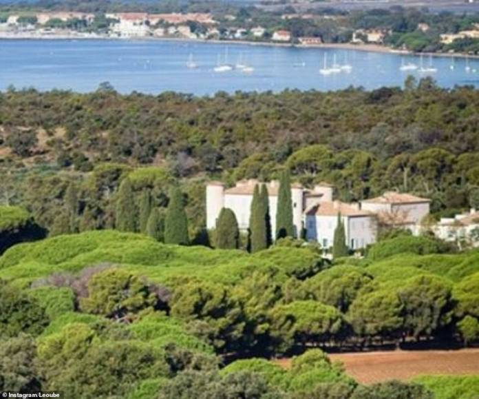 This is the luxury chateau where James Middleton and his bride Alizzie celebrated their secret wedding over the weekend