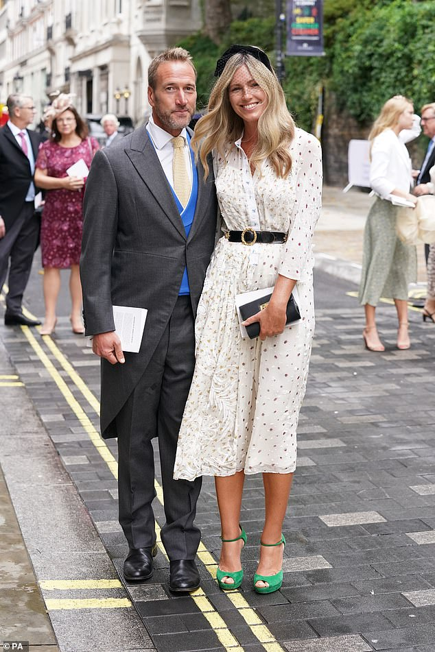 Marina Fogle is the latest celeb to give up the soap as she joins the likes of Mila Kunis, Ashton Kutcher and Jake Gyllenhaal in accepting loose washing habits.  Pictured, Marina with her courageous husband after the wedding of Flora Ogilvy at St James's Church in Piccadilly, central London on September 10, 2021