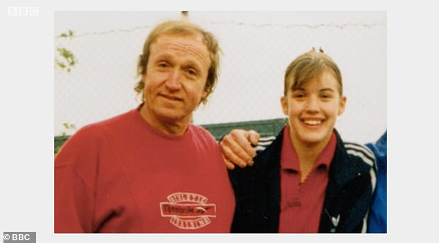 At age 15, the presenter was abused by her athletics coach, Paul North, (left), who was convicted in 2002 of multiple counts of one count of sexual assault and rape and sentenced to ten years in prison.