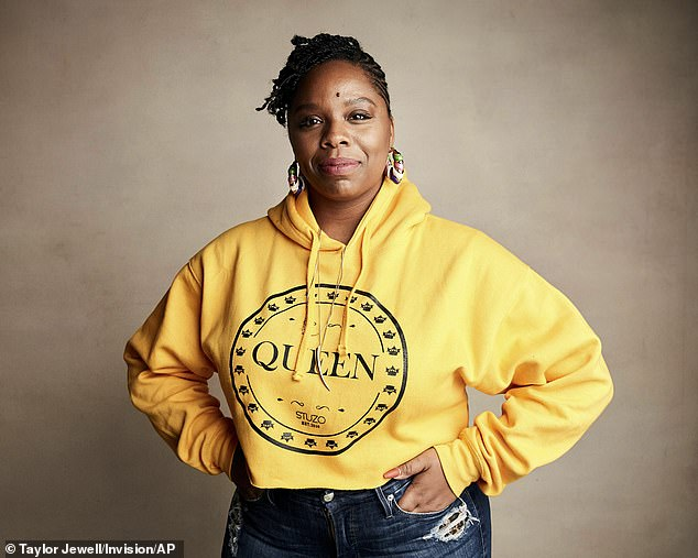 Ms. Cullers, co-founder of the US BLM group, described herself and fellow co-founder Alicia Garza as 'trained Marxists' in a 2015 interview.