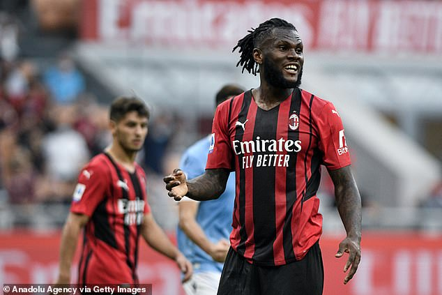 Kessie scored 13 goals for Milan last season, powering them back into the Champions League