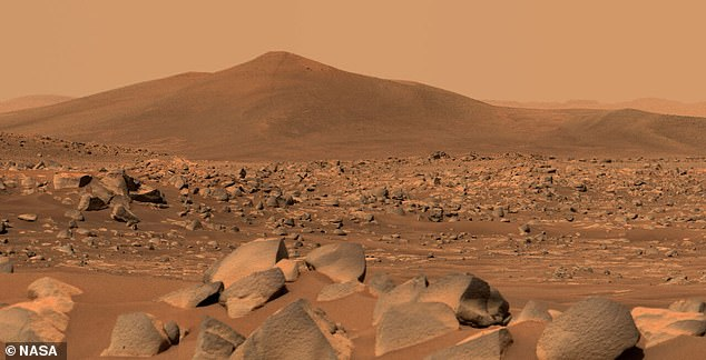 While there has been evidence of surface water in the early years of Mars' history, today it is a desert-like landscape with no liquid water on its surface.