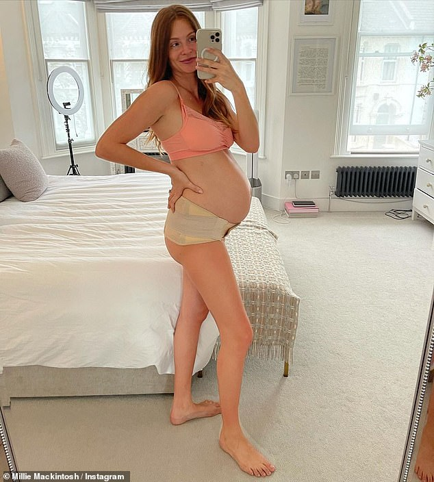 , Pregnant Millie Mackintosh shows off her baby bump as she details 'weird and wonderful' symptoms, The Evepost BBC News