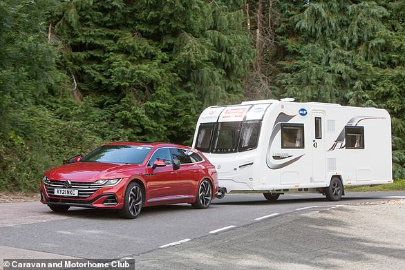 VW's Arteon Shooting Brake Is Beautiful, But Also A Proven Caravan Luger