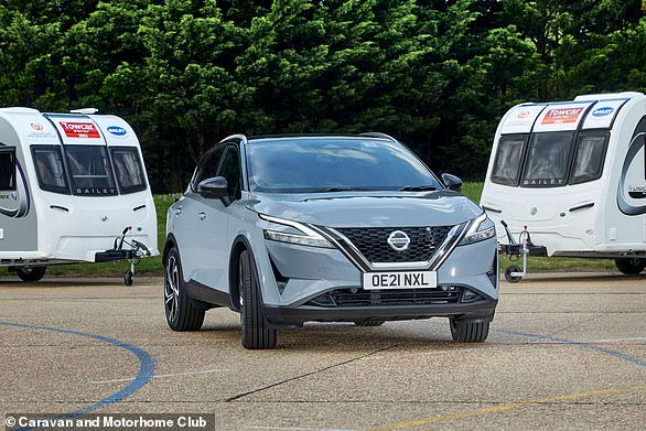 Nissan's all-new Qashqai wins the 1,300-1,400kg caravan-towing category – a major achievement for a Sunderland-built SUV