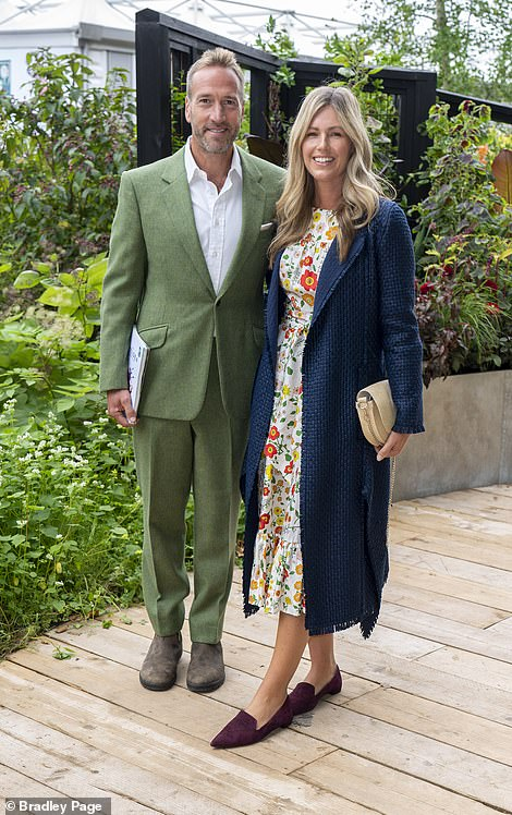 Ben Fogle and his wife Marina were in attendance at the big event