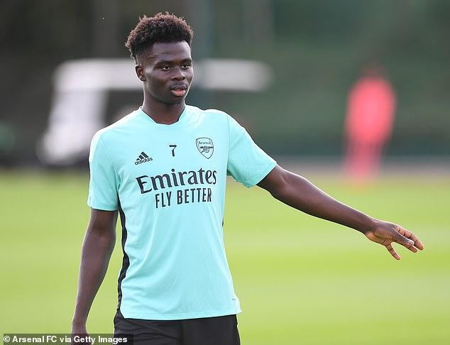 Juventus and Atletico Madrid are said to be keeping tabs on Arsenal winger Bukayo Saka, 20
