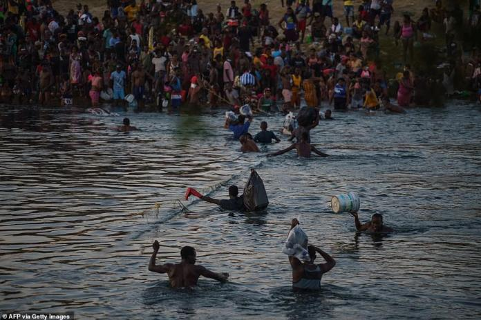 Desperate Haitians are paying up to $10,000 and traveling thousands of miles by foot, coach and boat to reach safety in the isolated town of Del Rio on the Mexico-U.S. border.