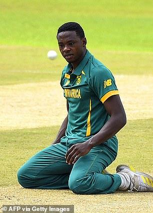 South Africa bowler Kagiso Rabada
