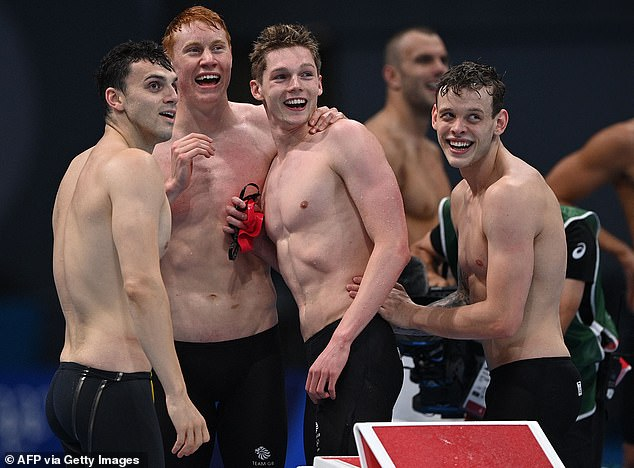 Dean also won the 4x200 freetsyle relay and became the first British swimmer to win two golds at an Olympics for 113 years